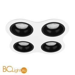 Встраиваемый светильник Lightstar Domino ROUND МR16 (214646+214607+214607+214607+214607) D64607070707