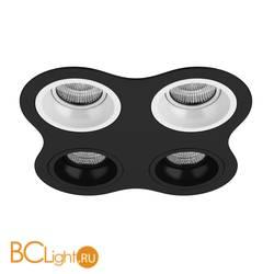 Встраиваемый светильник Lightstar Domino D64706060707 ROUND МR16 (214647+214606+214606+214607+214607)