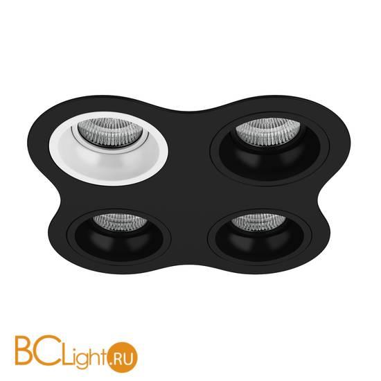 Встраиваемый светильник Lightstar Domino D64706070707 ROUND МR16 (214647+214606+214607+214607+214607)