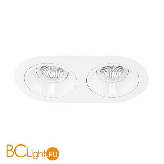 Встраиваемый светильник Lightstar Domino D6560606 ROUND МR16 (214656+214606+214606)