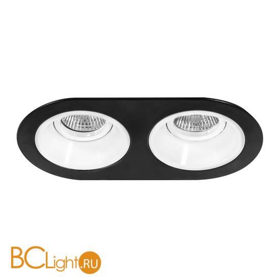 Встраиваемый светильник Lightstar Domino D6570606 ROUND МR16 (214657+214606+214606)