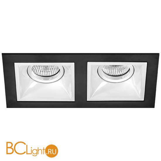 Встраиваемый светильник Lightstar Domino D5270606 (214527+214506+214506)