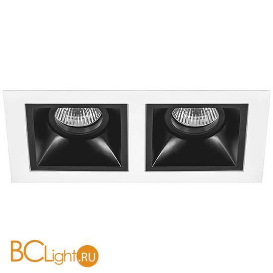 Встраиваемый светильник Lightstar Domino D5260707 (214526+214507+214507)