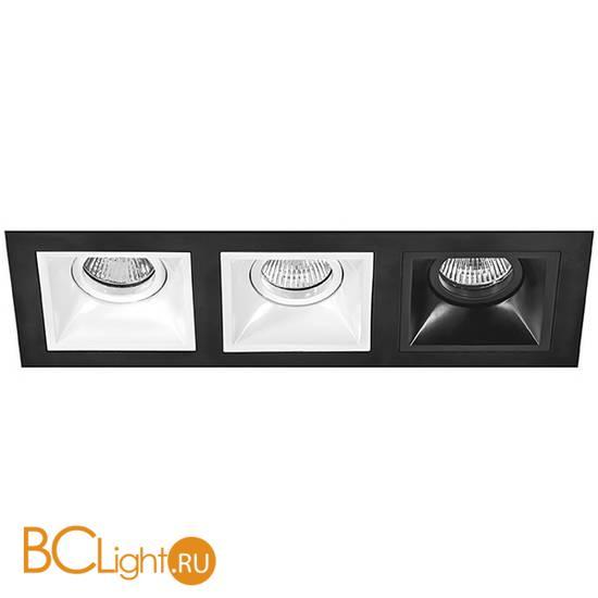 Встраиваемый светильник Lightstar Domino D537060607 (214537+214506+214506+214507)