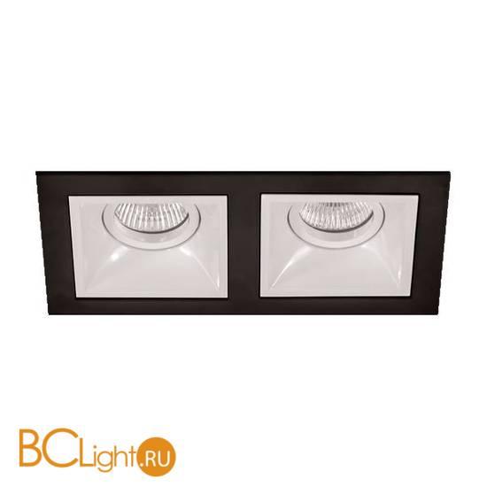 Встраиваемый спот (точечный светильник) Lightstar Domino 214527+214506x2 (D5270606)