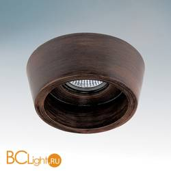 Встраиваемый светильник Lightstar Extra Dark walnut MR16 041019