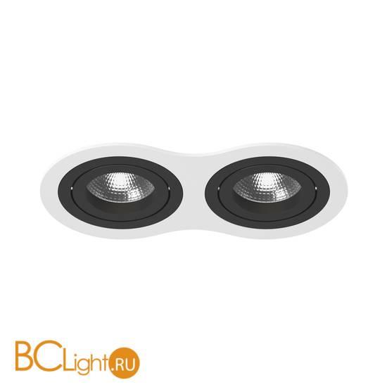 Встраиваемый светильник Lightstar i6260707 INTERO 16 Double ROUND (217626+217607+217607)