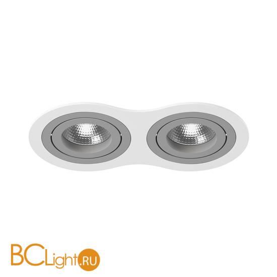 Встраиваемый светильник Lightstar i6260909 INTERO 16 Double ROUND (217626+217609+217609)