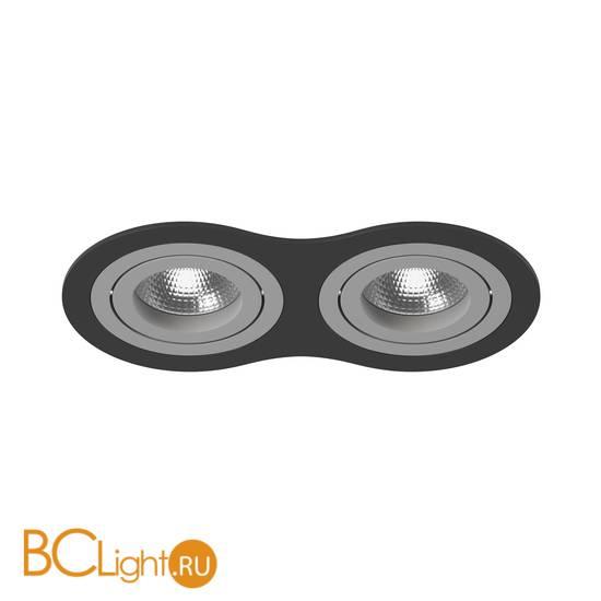 Встраиваемый светильник Lightstar i6270909 INTERO 16 Double ROUND (217627+217609+217609)