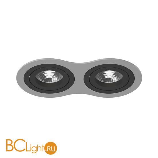 Встраиваемый светильник Lightstar i6290707 INTERO 16 Double ROUND (217629+217607+217607)