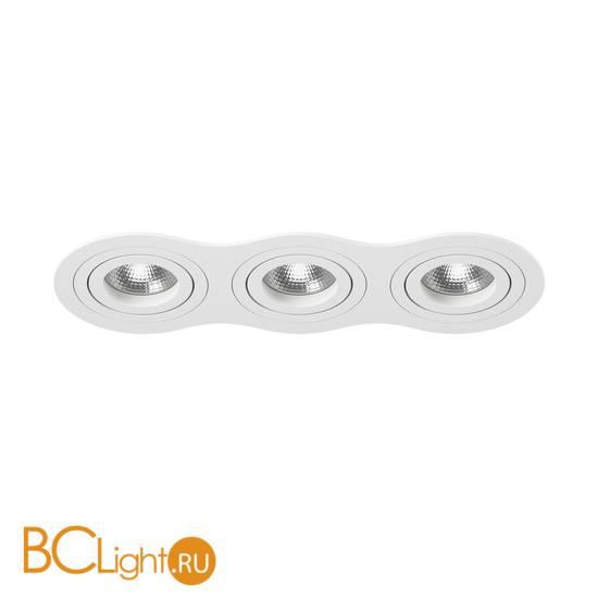 Встраиваемый светильник Lightstar i636060606 INTERO 16 Triple ROUND (217636+217606+217606+217606)