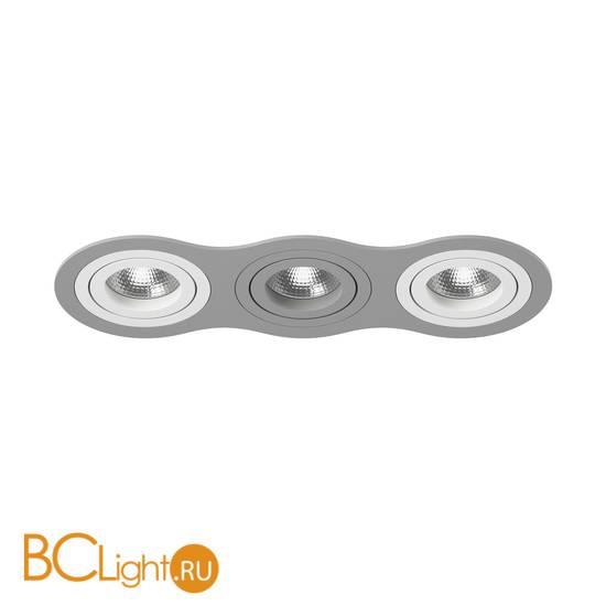 Встраиваемый светильник Lightstar i639060906 INTERO 16 Triple ROUND (217639+217606+217609+217606)