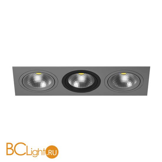 Встраиваемый светильник Lightstar Intero 111 Triple QUADRO i839090709
