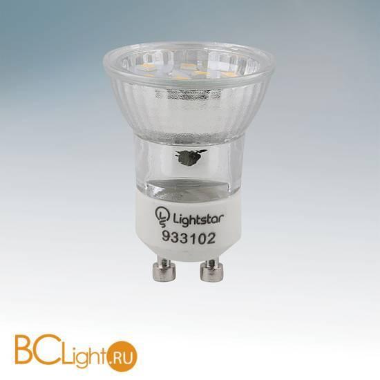 Лампа Lightstar GU10 MR11 LED 3W 220V 4200K 933104