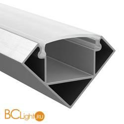 Профиль угловой Lightstar 409629 2м алюминий рассеиватель в комплекте