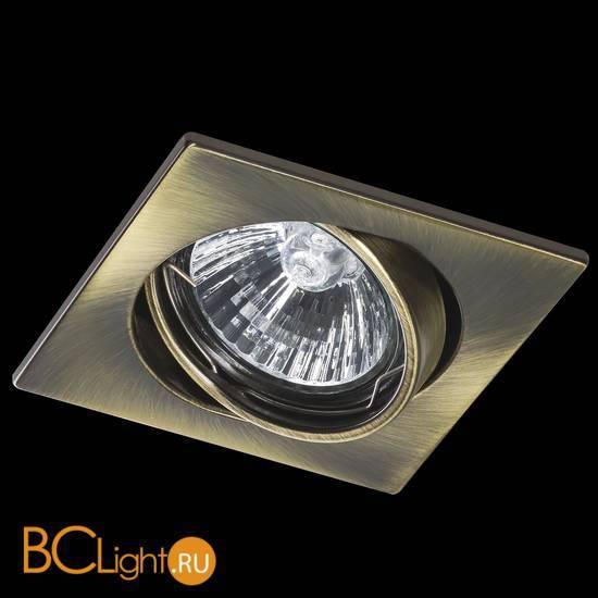 Встраиваемый спот (точечный светильник) Lightstar Lega 011941