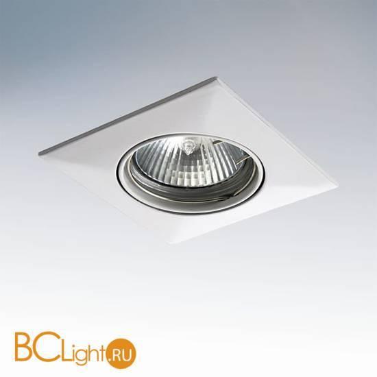 Встраиваемый светильник Lightstar LEGA QUA ADJ MR16 011030