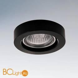 Встраиваемый светильник Lightstar Lei micro nero 006157