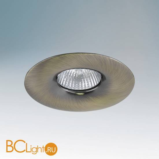 Встраиваемый спот (точечный светильник) Lightstar Levigo 010011