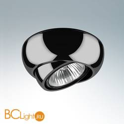 Встраиваемый светильник Lightstar Ocula X1 Black Chrome 011817