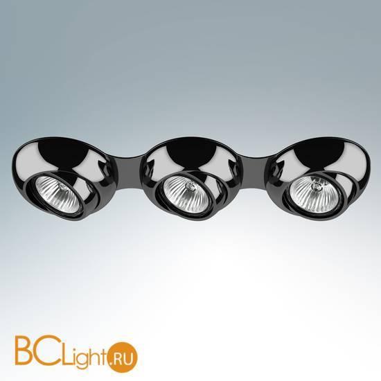 Встраиваемый светильник Lightstar Ocula X3 Dark Chrome 011837