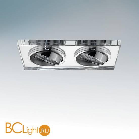 Встраиваемый спот (точечный светильник) Lightstar RIFLE 2X 002544