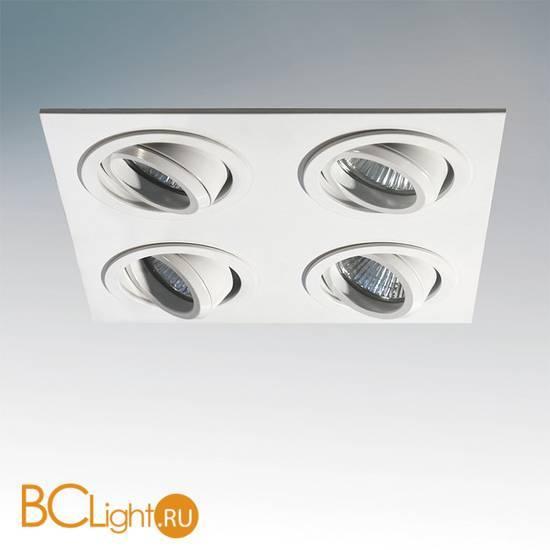 Встраиваемый спот (точечный светильник) Lightstar SINGO X4 011614