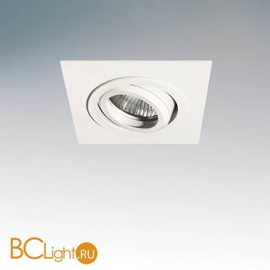 Встраиваемый спот (точечный светильник) Lightstar SINGO X1 011611