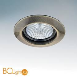 Встраиваемый спот (точечный светильник) Lightstar TESO FIX 011071