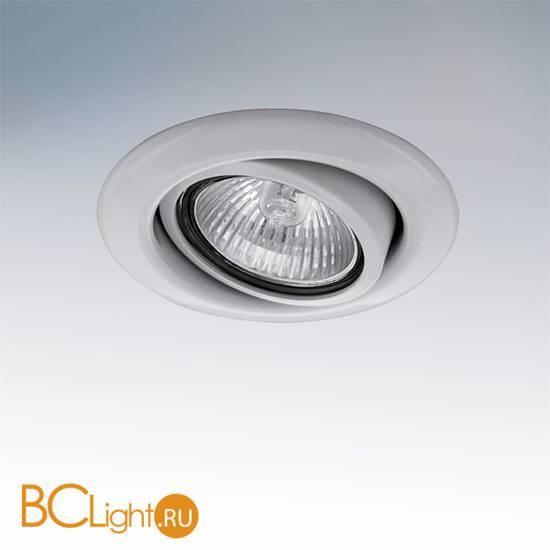 Встраиваемый поворотный светильник Lightstar TESO ADJ 011080
