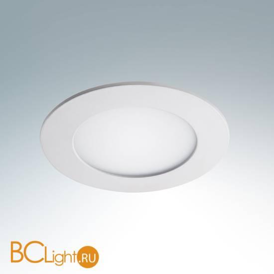 Встраиваемый светильник Lightstar Zocco Round White 223064 LED x 1 6W 4200K 300Lm