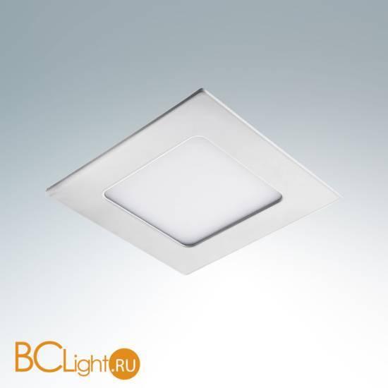 Встраиваемый светильник Lightstar Zocco Quadro White 224064 LED x 1 6W 4200K 300Lm