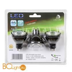 Лампа Lucide GU10 4,5W 220V 3000K 320Lm 49000/13/30