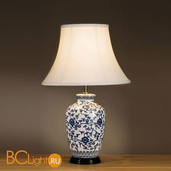 Настольная лампа Lui's Collection Blue Ginger Jar LUI/BLUE G JAR + LUI/LS1010