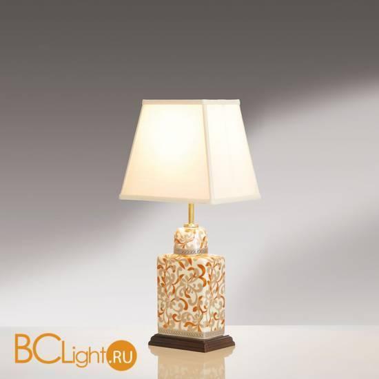Настольная лампа Lui's Collection Bronze-Silver Petals LUI/BR/SI PETALS + LUI/LS1007