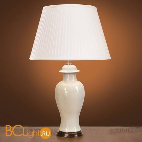 Настольная лампа Lui's Collection Crackle LUI/IVORY CRA SM + LUI/LS1004
