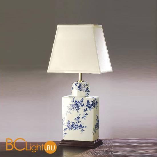 Настольная лампа Lui's Collection Flower LUI/BLUE FLOWER + LUI/LS1007