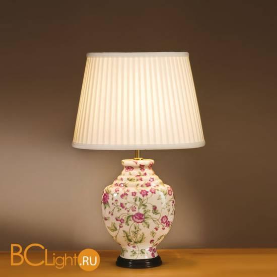 Настольная лампа Lui's Collection Pink Blossoms LUI/PINK CARN + LUI/LS1046