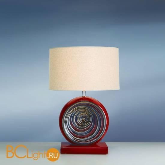 Настольная лампа Lui's Collection Swirl LUI/RED SWIRL + LUI/LS1026