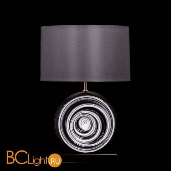 Настольная лампа Lui's Collection Swirl LUI/BLACK SWIRL + LUI/LS1002