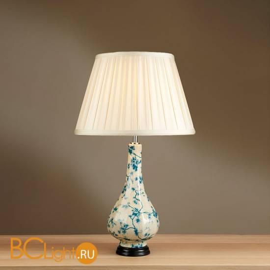 Настольная лампа Lui's Collection Teal Leaves LUI/TEAL LEAVES + LUI/LS1059
