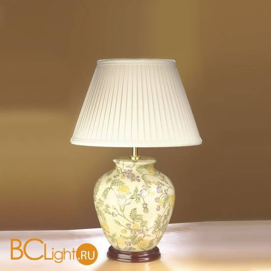 Настольная лампа Lui's Collection Yellow Purple Flowers LUI/YELLOW FLO + LUI/LS1032