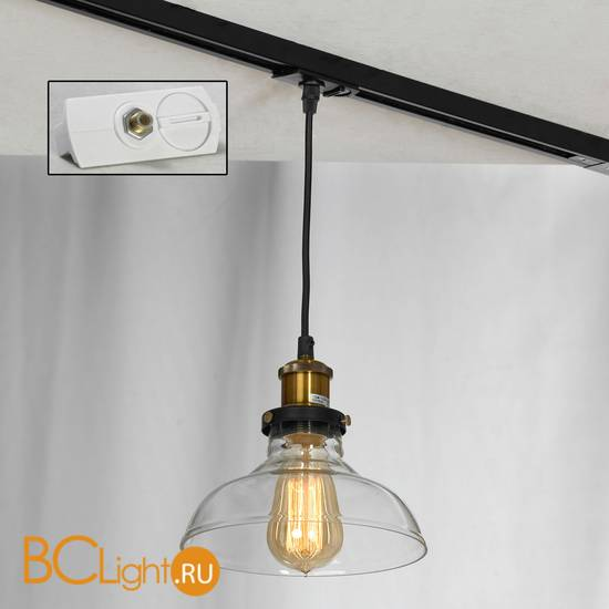 Подвесной трековый светильник Lussole Loft Track Lights LSP-9606-TAW