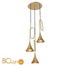 Подвесной светильник Mantra Jazz Pintura Oro 6351