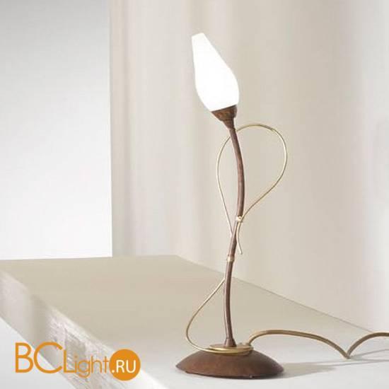 Настольная лампа Masca Armonia 1832/B1 Tabacco oro / Glass 505