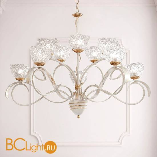 Люстра Masca Artica 1864/10 Bianco oro / Glass 577