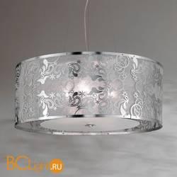 Подвесной светильник Masca Cashmere 1868/4 Argento/Glass 587
