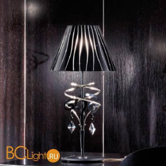 Настольная лампа Masca Chic 1831/BG Nero lucido / Glass 509