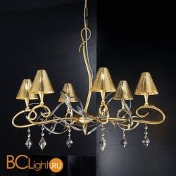 Люстра Masca Chic 1831/6 Oro / Glass 503