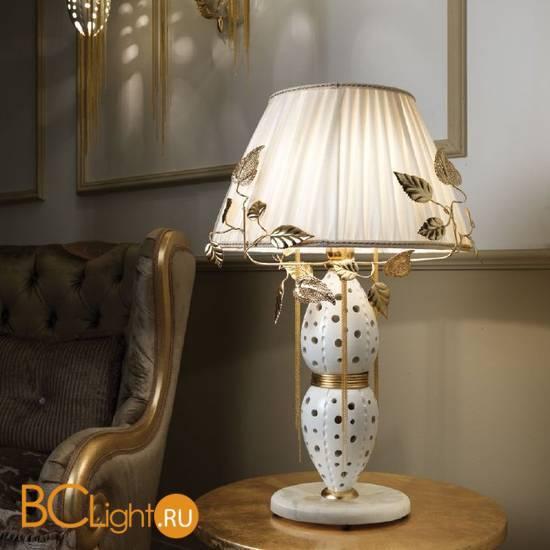 Настольная лампа Masca Fantasia 1881/BG Bianco lucido oro